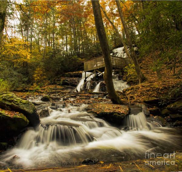 Photograph - Trahlyta Falls by Barbara Bowen