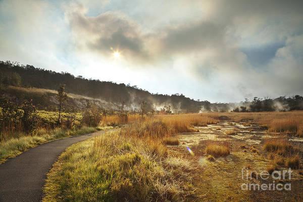 Photograph - Trail At Sulfur Banks - Hawaiian Volcano by Charmian Vistaunet
