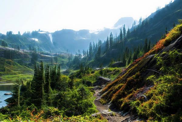 Photograph - Trail In Mountains by Yulia Kazansky