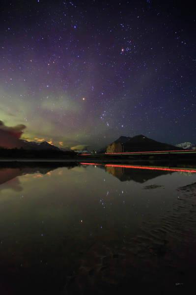 Photograph - Trail Lights by Ed Boudreau