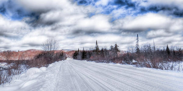 Photograph - Trail One In Old Forge 2 by David Patterson
