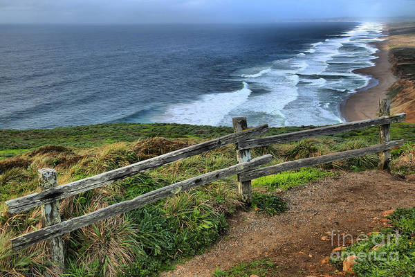 Photograph - Trail Overlooking South Beach by Adam Jewell