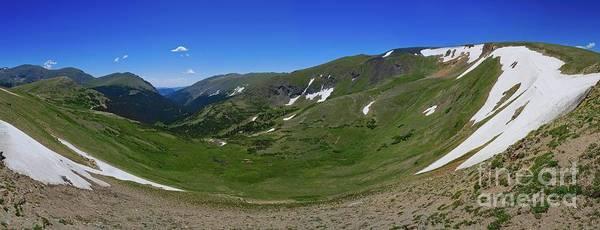 Photograph - Trail Ridge Cirque by Jon Burch Photography