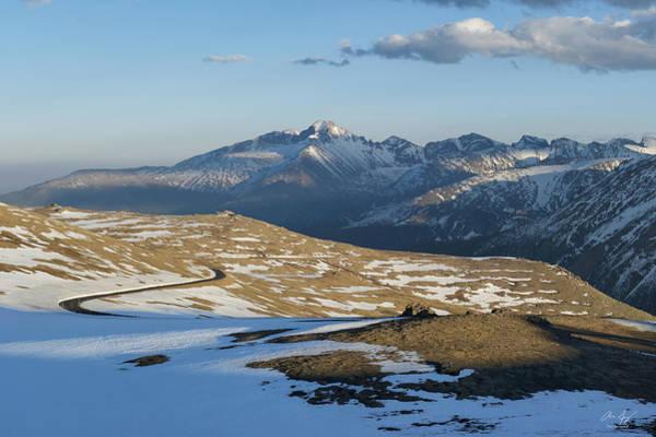 Fourteener Photograph - Trail Ridge Road by Aaron Spong