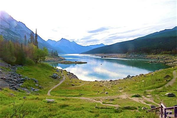 Photograph - Trail To Lake by Ralph Jones