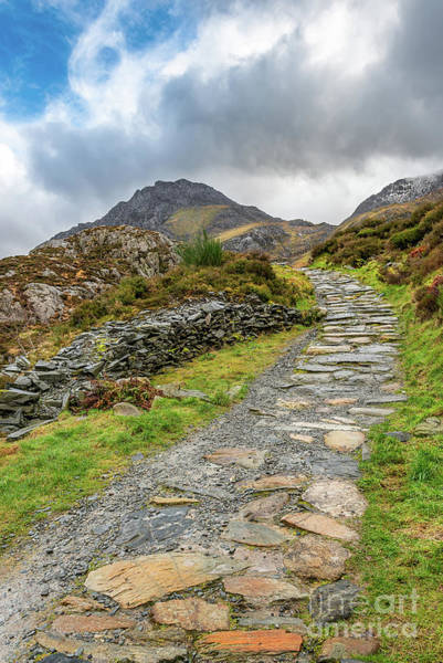 Photograph - Trail To Tryfan Mountain Snowdonia by Adrian Evans