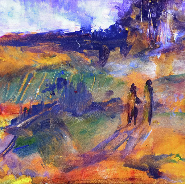 Port Townsend Painting - Trail Walk by James Murphy