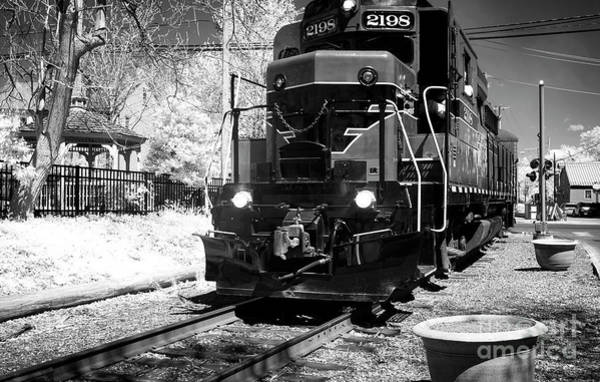 Photograph - Train Blues In New Hope by John Rizzuto