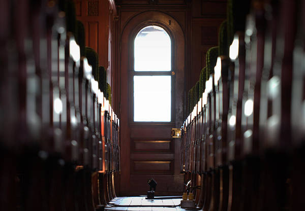 Timeworn Photograph - Train Car Interior by Joseph Skompski