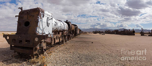Photograph - Train Cemetery Bolivia by Warren Photographic