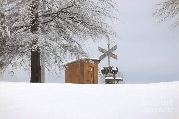 Wall Art - Photograph - Railroad Rest Area by Benanne Stiens