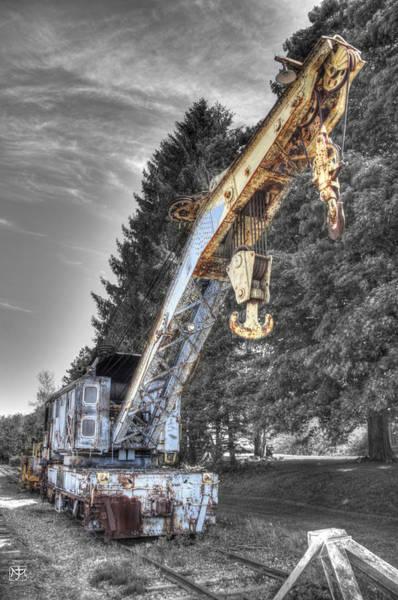 Photograph - Train Crane 3 by John Meader