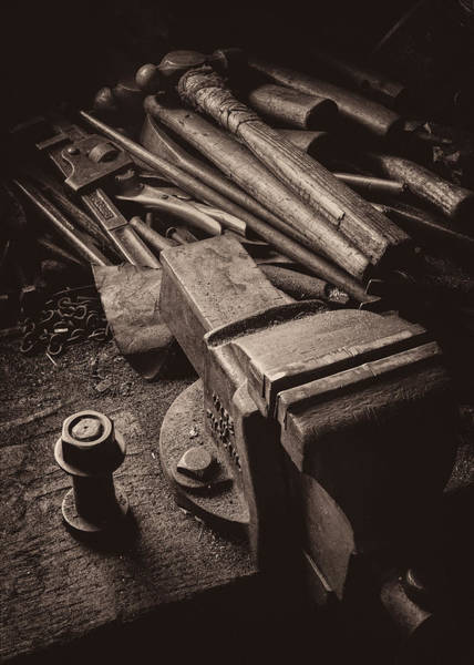 Wall Art - Photograph - Train Driver's Tools by Dave Bowman