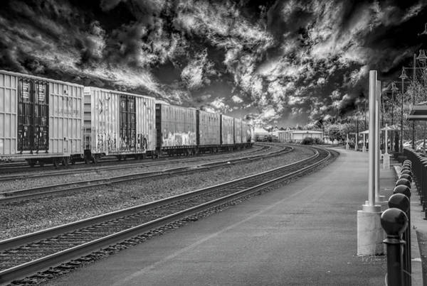Photograph - Train Horizon by Bill Posner