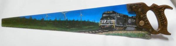 Bier Painting - Train  by Matt Bier