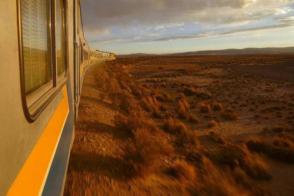 Photograph - Train Ride Oruro To Tupiza 10 by Skip Hunt