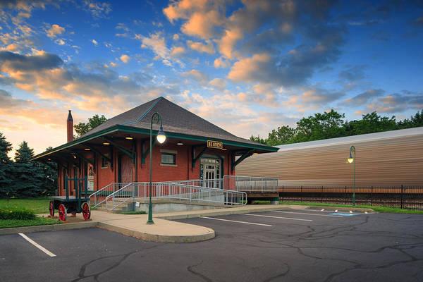 Beaver Photograph - Train Station  by Emmanuel Panagiotakis