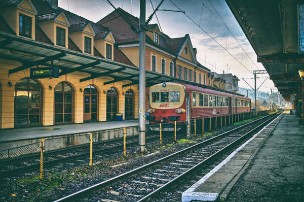 Photograph - Train Station Sighisoara by Adam Rainoff