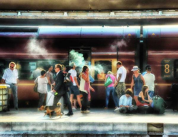 Photograph - Train Stop by Coleman Mattingly