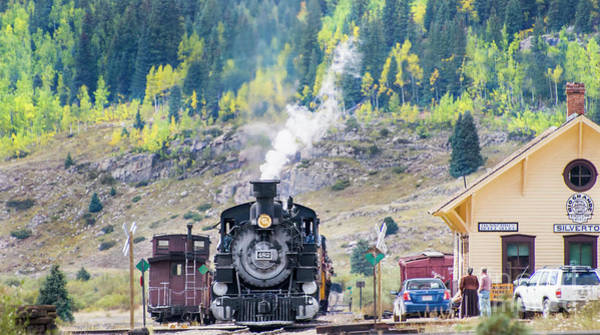 Photograph - Train Time In Silverton by Tim Mulina
