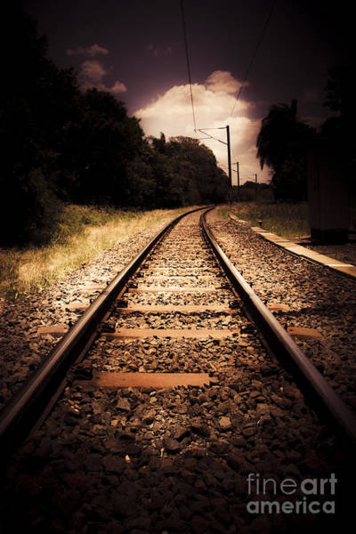 Commute Photograph - Train Tour Of Darkness by Jorgo Photography - Wall Art Gallery