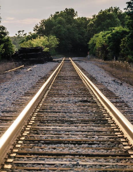 Photograph - Train Track  by Andrea Anderegg