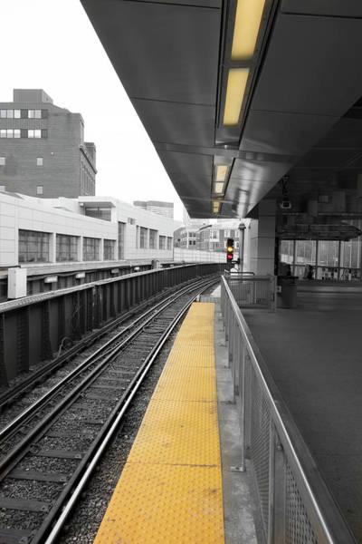 Photograph - Train Tracks Series Y1 by Carlos Diaz