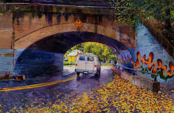 Tunnel Painting - Train Tunnel, Fifeville by Edward Thomas