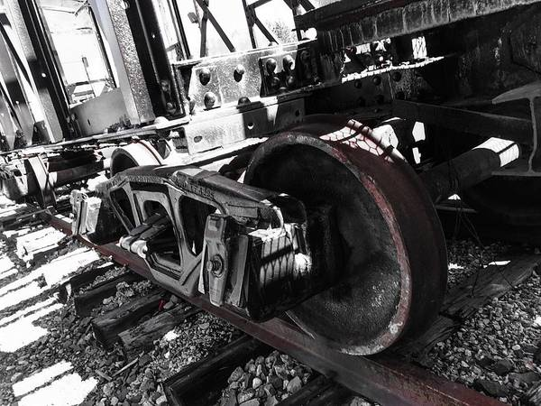 Photograph - Train Wheels by Jason Nicholas