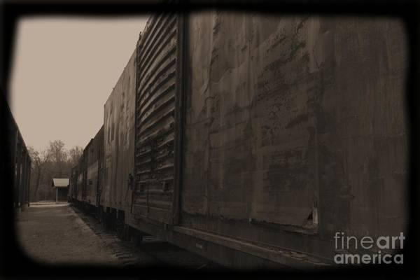 Photograph - Trains 12 Daguerreotype by Jay Mann