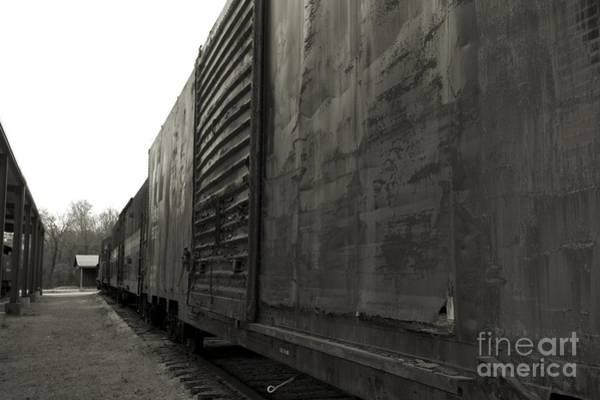 Photograph - Trains 12 Platinum by Jay Mann