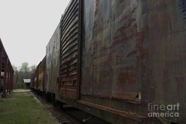 Photograph - Trains 12 Autochrome by Jay Mann