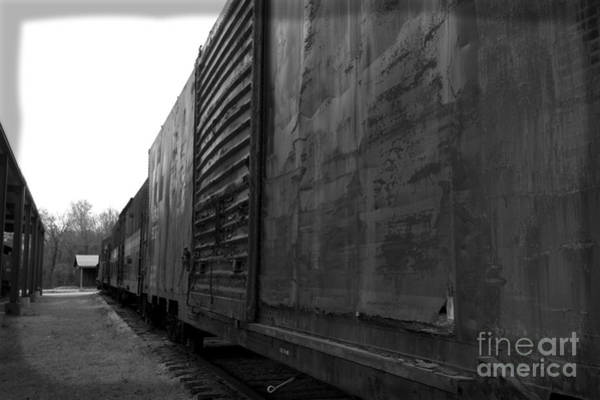 Photograph - Trains 12 Box Camera by Jay Mann