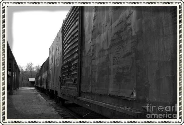 Photograph - Trains 12 Box Camera Border by Jay Mann