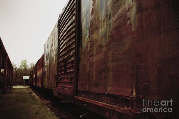 Photograph - Trains 12 Retro by Jay Mann