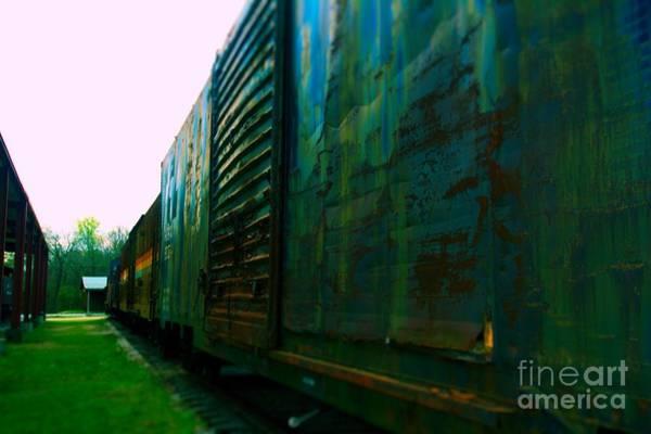 Photograph - Trains 12 Selfoc by Jay Mann