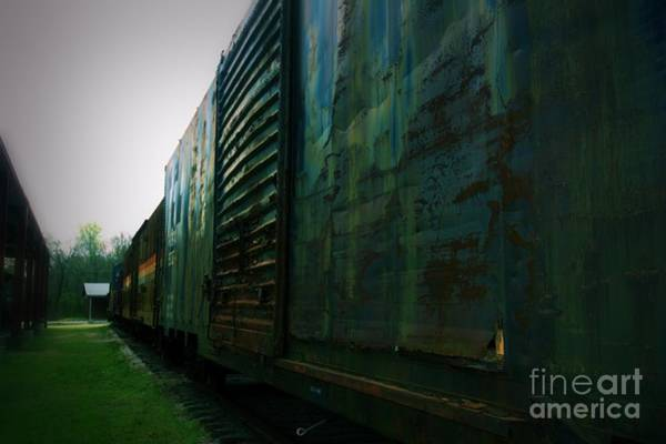 Photograph - Trains 12 Vign by Jay Mann