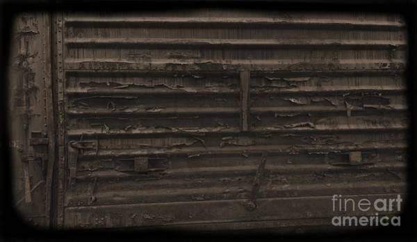 Photograph - Trains 13 Daguerreotype by Jay Mann