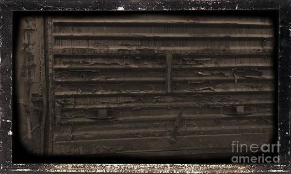 Photograph - Trains 13 Daguerreotype Border by Jay Mann
