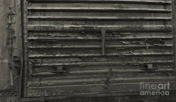 Photograph - Trains 13 Platinum by Jay Mann