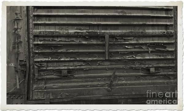 Photograph - Trains 13 Platinum Border by Jay Mann