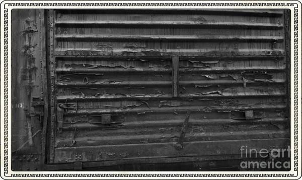 Photograph - Trains 13 Box Camera Border by Jay Mann