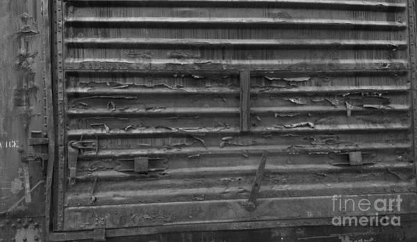 Photograph - Trains 13 Blkwht by Jay Mann