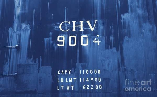 Photograph - Trains 14 Cyanotype by Jay Mann