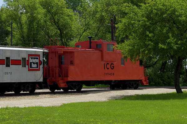 I Phone Case Mixed Media - Trains Caboose 199458 I C G by Thomas Woolworth