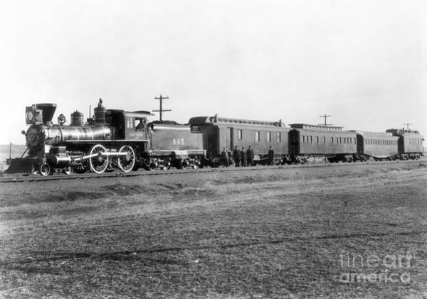 Photograph - Trains, U.s.a by Granger
