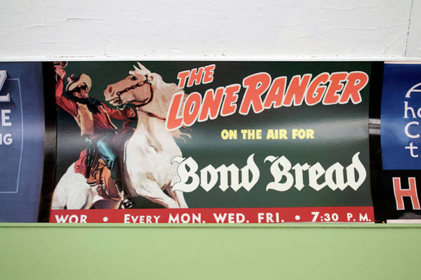 Wall Art - Mixed Media - Trains Vintage Train Car Ad The Lone Ranger by Thomas Woolworth
