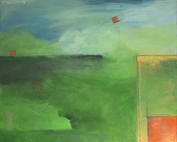 Painting - Trajectory by Tim Nyberg