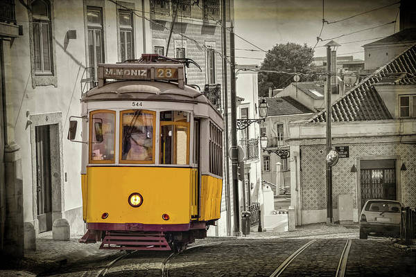 Wall Art - Photograph - Tram 28 Lisbon Portugal  by Carol Japp