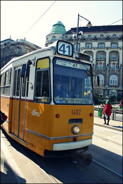 Wall Art - Photograph - Tramway In Budapest by Eye Contact